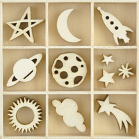 Kaisercraft: Flourish Pack - Star & Moon (55 Piece) image