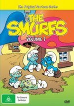 Smurfs, The - Vol. 7 on DVD