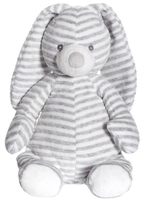Teddykompaniet: Cotton Cuties Rabbit - Grey