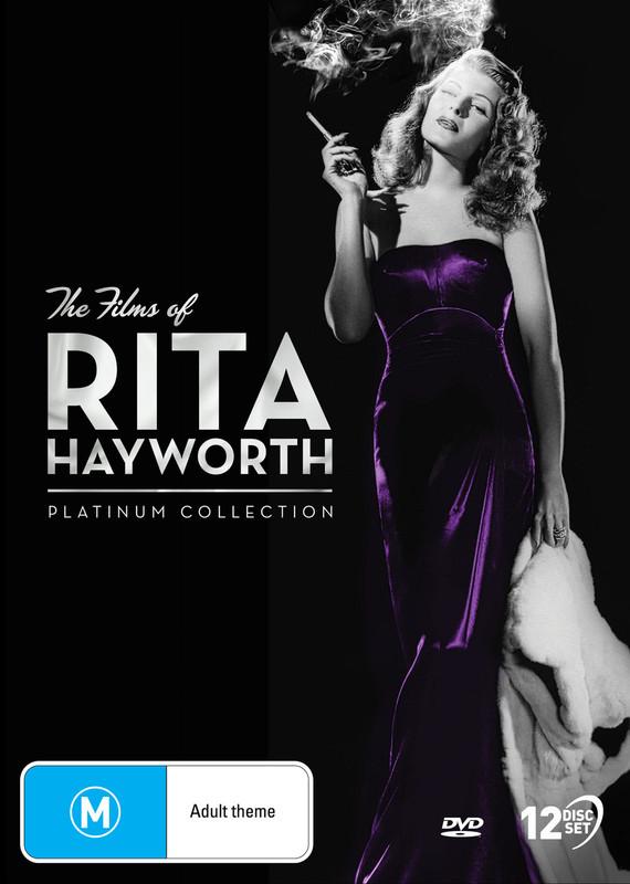 Rita Hayworth - Platinum Collection 1940-1953 on DVD