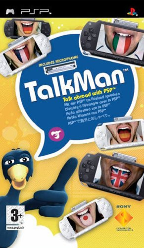 TalkMan (includes microphone) for PSP image