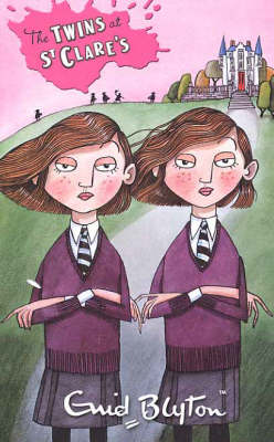 The Twins at St. Clare's by Enid Blyton image