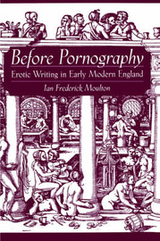 Before Pornography by Ian Frederick Moulton image