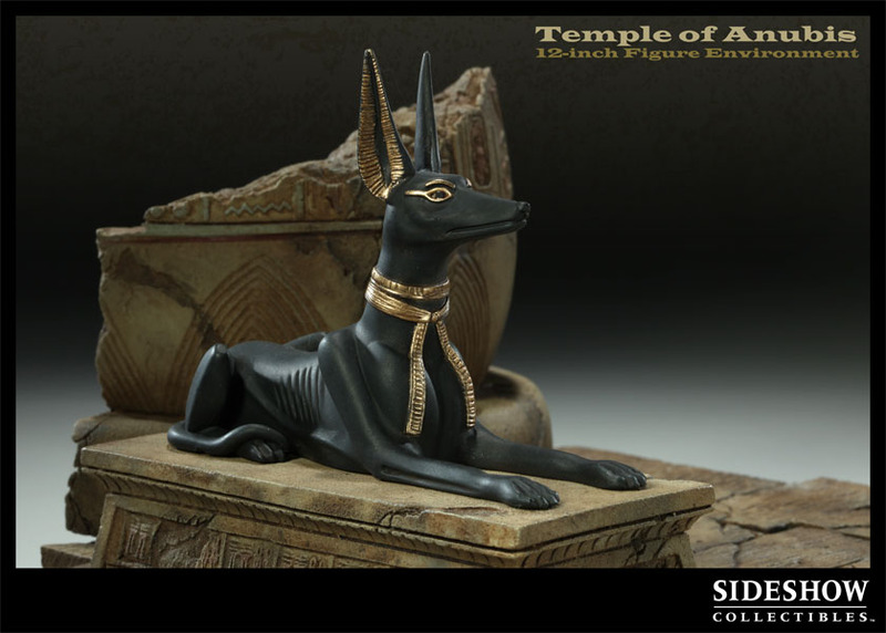 The Temple of Anubis 1/6 Figure Environment