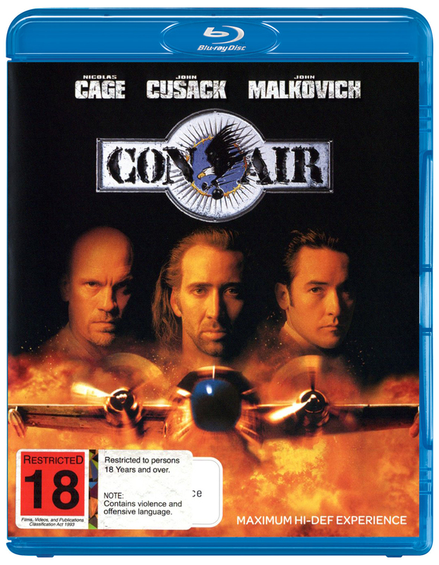 Con Air on Blu-ray