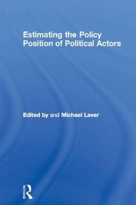 Estimating the Policy Position of Political Actors image