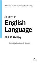 Studies in English Language by M.A.K. Halliday image