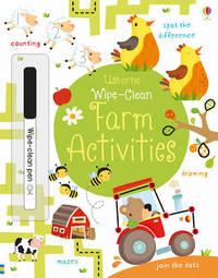 Wipe-Clean Farm Activities by Kirsteen Robson