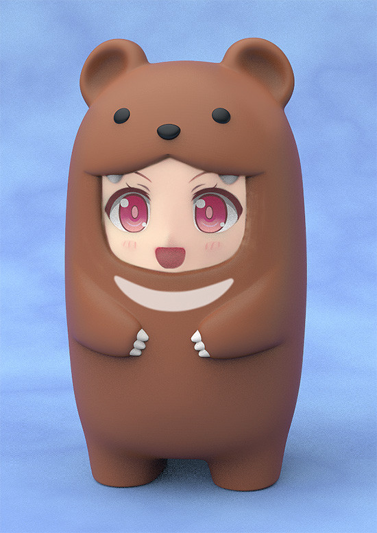 Nendoroid More: Face Parts Case - Brown Bear image