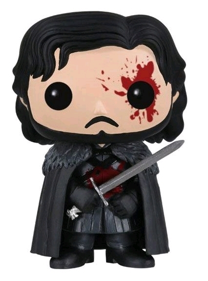 Game of Thrones - Jon Snow (Bloody) Pop! Vinyl Figure image