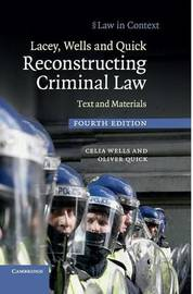 Law in Context by Celia Wells