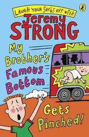 My Brother's Famous Bottom Gets Pinched by Jeremy Strong image