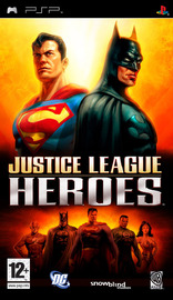 Justice League Heroes for PSP image