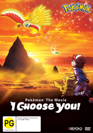 Pokemon The Movie: I Choose You! on DVD