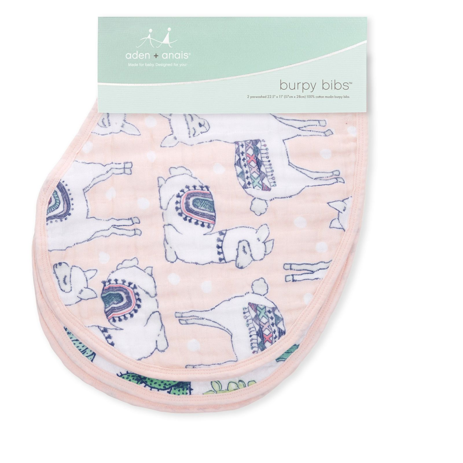 Aden + Anais: Classic Burpy Bib - Trail Blooms (2 Pack) image