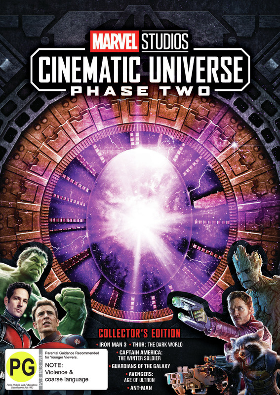 Marvel Cinematic Universe: Phase Two Box Set on DVD
