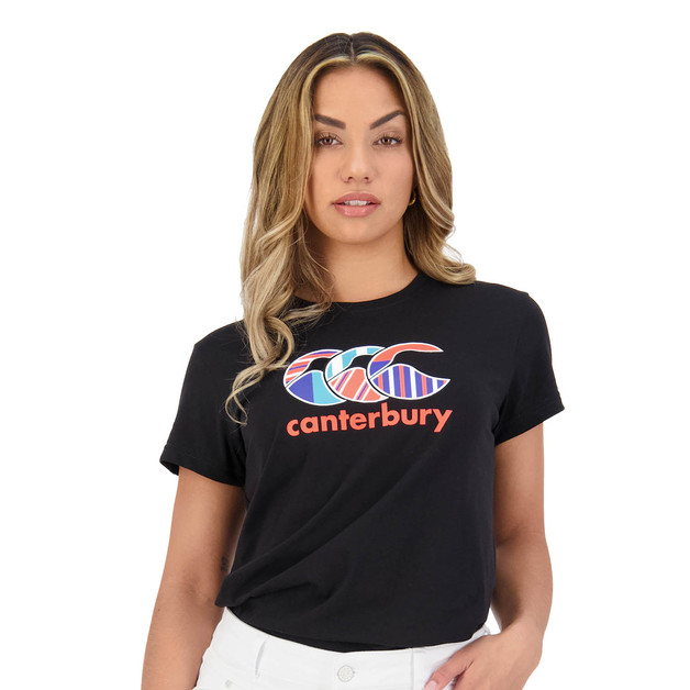 Canterbury: Womens Uglies Tee - Black (Size 10)