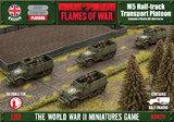 Flames of War: M5 Halftrack Transport Platoon (Plastic)