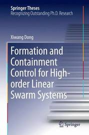 Formation and Containment Control for High-order Linear Swarm Systems by Xiwang Dong image