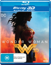 Wonder Woman (2017) on Blu-ray, 3D Blu-ray