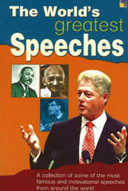 The World's Greatest Speeches by Vijaya Kumar image