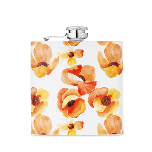 Twine: Garden Party - Poppy Flask (6 oz)