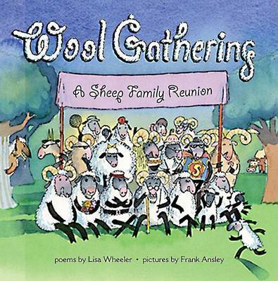 Wool Gathering A Sheep Family by WHEELER
