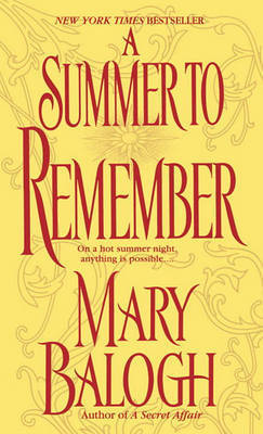 A Summer to Remember by Mary Balogh