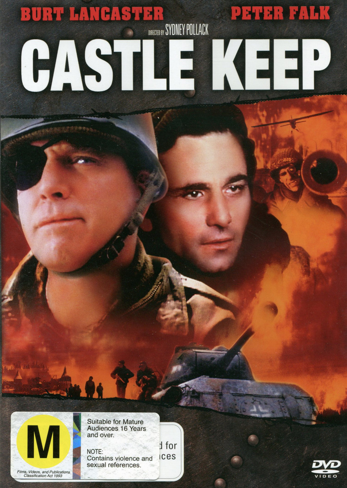 Castle Keep on DVD image