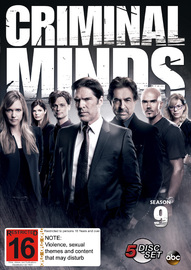Criminal Minds - Season 9 on DVD