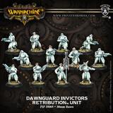 Warmachine: Retribution of Scyrah Dawnguard Invictors Unit