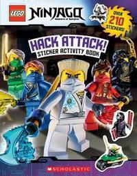 Hack Attack!: Sticker Activity Book (Lego Ninjago) by Ameet Studio image
