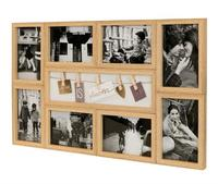 Natural Clip Collage Photo Frame (57x33cm)