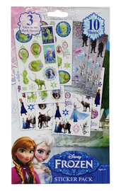 Disney's Frozen: 10 Page Sticker Book