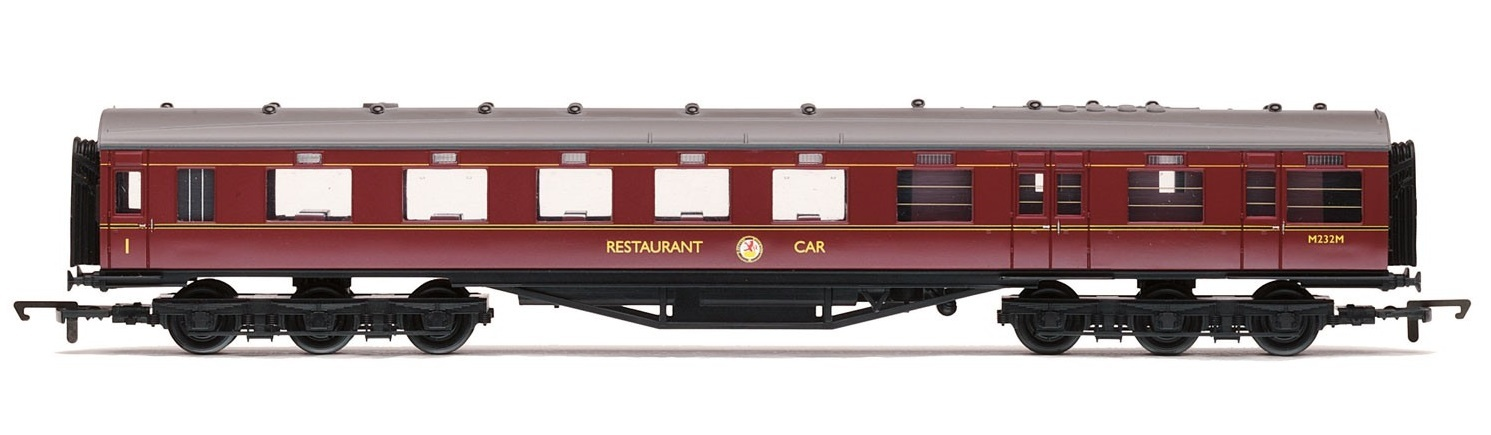 Hornby: BR Stanier Period III 68' Dining/Restaurant Car 'M232M' image