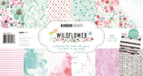 Kaisercraft Paper Pack with Bonus Sticker Sheet (Wildflower)
