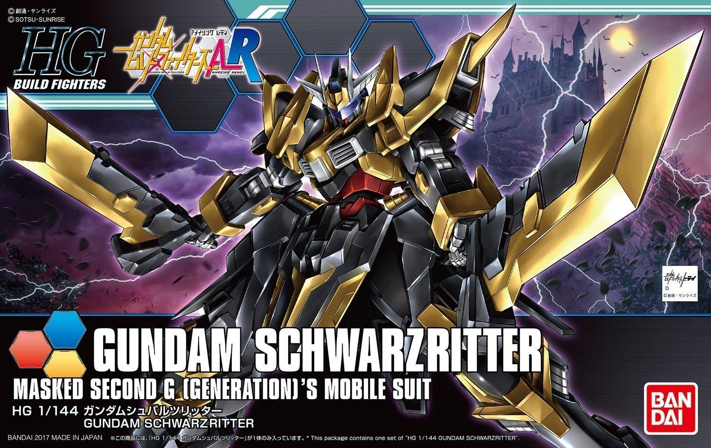 1/144 HGBF Gundam Schwarz Ritter - Model Kit image