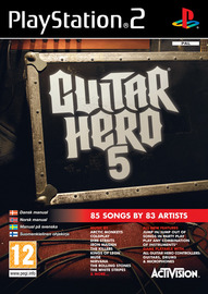 Guitar Hero 5 (Game Only) for PS2