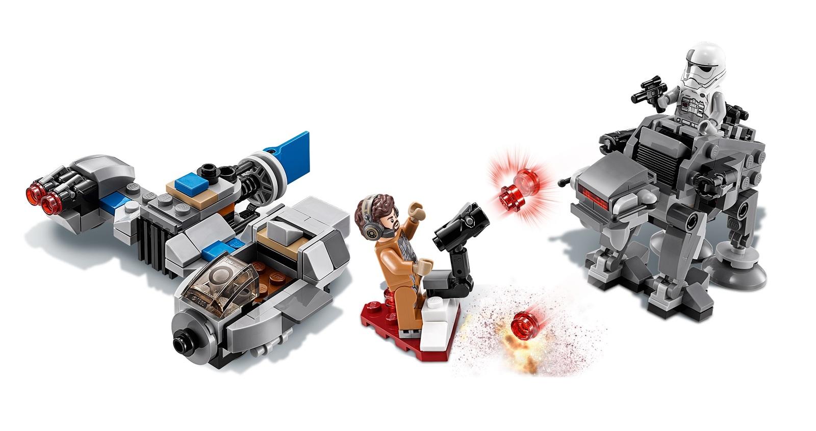 LEGO Star Wars: Ski Speeder vs. First Order Walker - Microfighters Set (75195) image