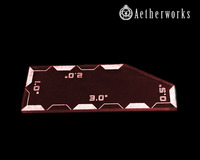 Warhammer 40k 8th ed Combat Measurement Tool (Red)