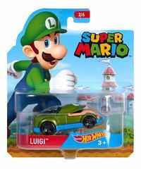 Hot Wheels: Entertainment Character Car - Luigi
