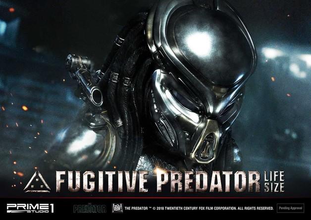 Predator: Fugitive Predator - 1:1 Scale Replica Bust