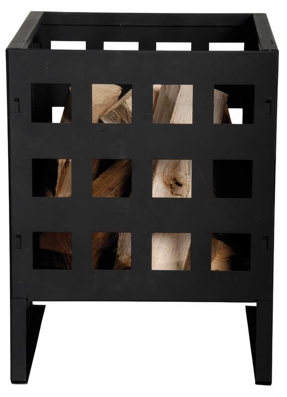 Wood Fire Basket - Square (30.5x30.5x40cm)