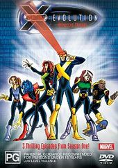 X-Men - Evolution: UnXpected Changes on DVD