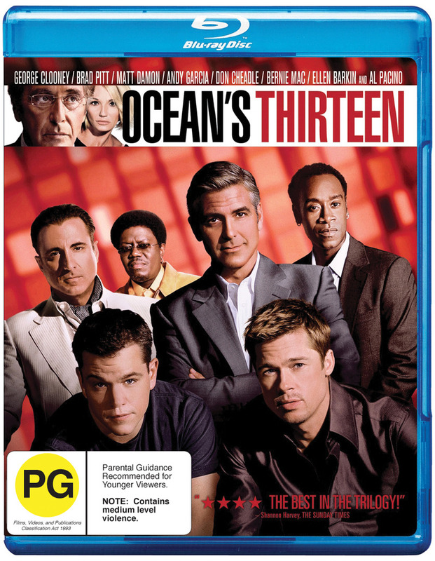 Ocean's Thirteen on Blu-ray