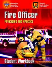 Fire Officer: Principles and Practice Student Workbook: Student Study Guide by Iafc image