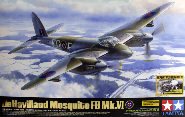 Tamiya De Havilland Mosquito FB Mk VI 1/32 Model Kit