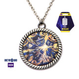 Doctor Who Exploding TARDIS Necklace