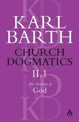 Church Dogmatics Classic Nip II.1 by Barth