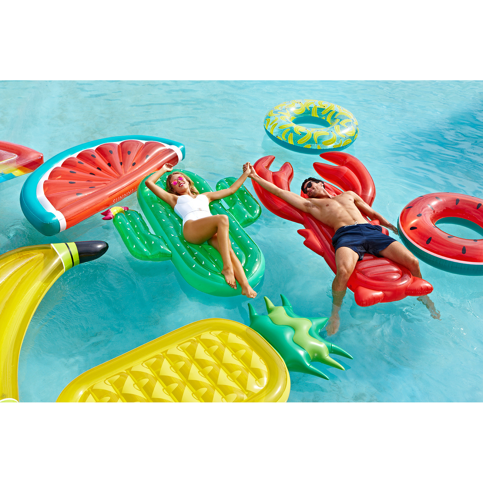Inflatable Watermelon Pool Float At Mighty Ape Nz